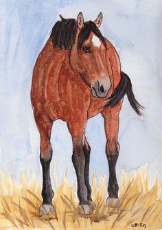A horse named Regal  by IckyDog on DeviantArt