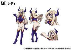 Mount Lady, personaje del anime Boku no Hero Academia.
