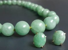 Check out this item in my Etsy shop https://www.etsy.com/listing/541765168/jade-14k-earrings-necklace-grade-a-green