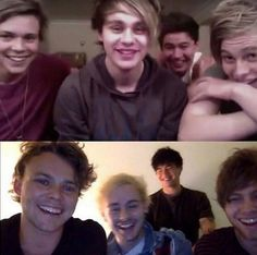 THIS IS WHY WE DONT BLINK IN THE 5SOS FAM. OUCH