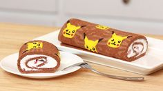 Chocolate Recipe Pikachu Roll Cake from Nerdy Nummies by Rosanna Pansino | Pokemon Food Craft