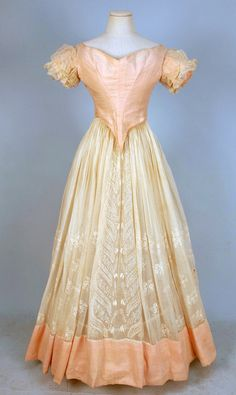 Evening Dress  1840s  Whitaker Auctions