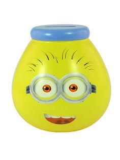 Minions Hand Decorated Pot of Dreams Money Jar