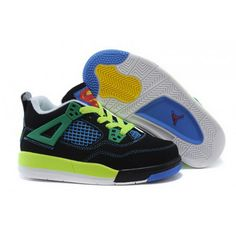 Buy Kids Jordan 4 Retro DB Black/Old Royal-Electric Green-White Doernbecher from Reliable Kids Jordan 4 Retro DB Black/Old Royal-Electric Green-White Doernbecher suppliers.Find Quality Kids Jordan 4 Retro DB Black/Old Royal-Electric Green-White Doernbeche Nike Kids Shoes, Jordan Shoes For Kids, New Jordans Shoes, Michael Jordan Shoes, Kids Jordans, Air Jordan Shoes, Kid Shoes, Shoes Uk, Tenis Online