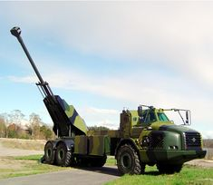 Fully automatic Howitzer system Archer. Sweden. The worlds fastest artillery system.