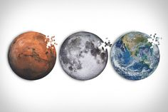 Red Planet, Mars, Planets, Riddles, Puzzles, Stud Earrings, The Martian, Shelter, Live
