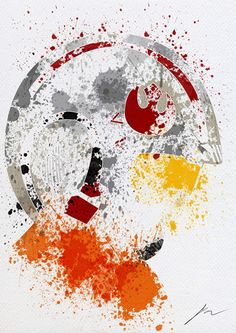 10 Paint Splatters Of Star Wars Characters