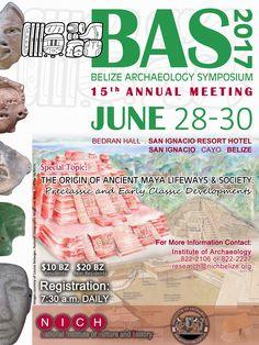 San Ignacio to Host 15th Annual Belize Archaeology Symposium