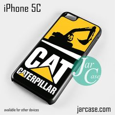 caterpillar excavator Phone case for iPhone 5C and other iPhone devices