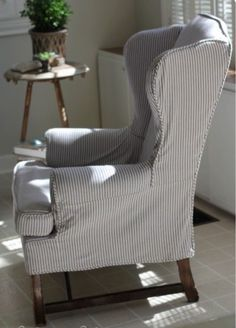 Ticking stripe fabric and why we love it — Lee Ann Thornton Interiors