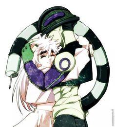 Meruem and Komugi -hunterxhunter