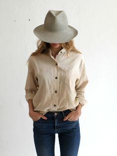 Jesse Kamm Classic Button Up Shirt