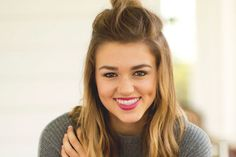 """Psalm """"My Tongue is the Pen of a Ready Writer"""": An Interview with Teen Dynamo Sadie Robertson of '. Sadie Robertson, Robertson Family, Summer Hairstyles, Pretty Hairstyles, Hair Day, New Hair, Hair Locks, Hair Inspo, Role Models"""