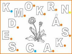 Alphabet, Teaching, Flowers, 8 Martie, Home Decor, Education, Logo, Homemade Home Decor, Logos