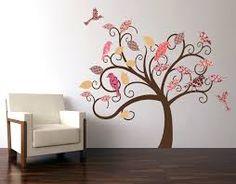 Attraktiv Wandbild Baum Selber Machen   Google Suche Wandsticker Baum, Wandtattoo  Blumen, Kinderzimmer Selber