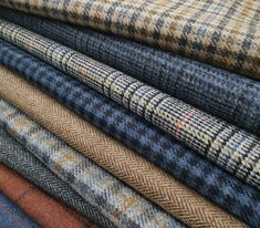 Coming soon from Magee 1866, a new collection of Shetland tweed fabric by the metre. The colours and designs of the Rockall collection are inspired by the tiny Atlantic Island of the same name.