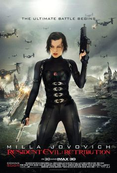 Alice new Mirror Poster and many many more, Resident Evil: Retribution