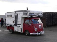 VW Camper - Like the originality of this even if it is a little rough around the edges