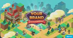 Stop waves of enemies by combining strategic placement of defense units. Emoji Games, Enemies, Castle, Tower, Waves, The Unit, Marketing, News, Check