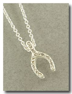Crystal Make a Wish Necklace from P.S. I Love You More Boutique