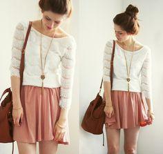 Primark Dress Worn As Top, H Skirt, Vintage Bracelet, Primark Bag   Anything could happen (by Anna Lena)   LOOKBOOK.nu