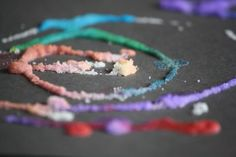 Salt, glue and Water art - love how simple this is!