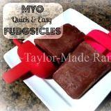 Linked to: taylormadehomestead.com/myo-quick-easy-healthier-fudgesicles/