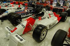 1991: This diamond running of the race car (75 years) was driven by Rick Mears to his 4th Indy win. ('79, '84, '88, '91).