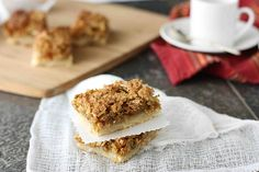 Oatmeal Butter Tart Square Recipe