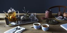 Tea Time on Provisions by Food52 Pots, cups, cookies, and every kind of tea you could possibly want. Time to make tea parties a regular occurrence again.