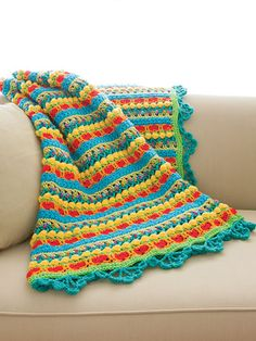 Candy-Gram Afghan Crochet Pattern from Annie's Craft Store. Order here: https://www.anniescatalog.com/detail.html?prod_id=131440&cat_id=468