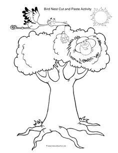 Cut and Paste Worksheets, Activities for Preschool