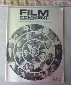 Film Comment November December 1974 The Tough Guys of Film Noir Max Ophuls