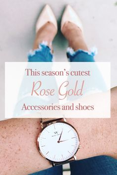 Click to find a 20% off discount code on all Welly Merck watches! Rose All Day! More than a trend, rose gold is the perfect accent to any outfit in need of a chic upgrade. No matter the season, your can always incorporate rose gold pieces.