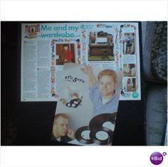 Erasure - Me and My Wardrobe 4 page feature (Smash Hits)