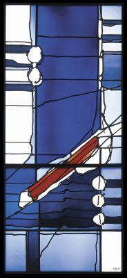 Hubert Spierling, Der Rote Keil Deutsches Glasmalerei-Museum