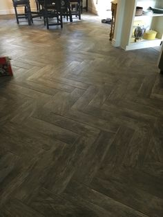 Faux Wood Tile Flooring In the Kitchen  Home Decorating