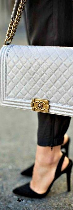 ~Chanel | The House of Beccaria.  Via @houseofbeccaria. #Chanel #handbags