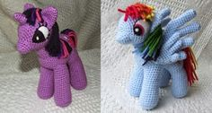 2000 Free Amigurumi Patterns: My Little Pony: Friendship is Magic, free crochet pattern