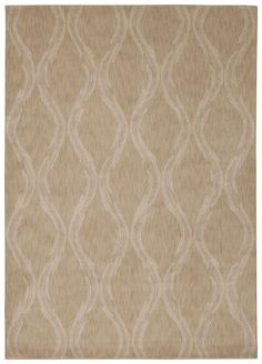 Nourison Tranquility Beige Area Rug TNQ02 BGE (Rectangle)