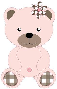 Ursinhos e ursinhas - Minus Applique Templates, Applique Patterns, Applique Designs, Crazy Patchwork, Patchwork Pillow, Teddy Bear Quilt Pattern, Urso Bear, Bear Clipart, Baby Clip Art