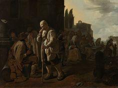 Feeding the Hungry / Dar de comer al hambriento // 1646 - 1649 // Michael Sweerts //  Seven Works of Mercy // Rijksmuseum