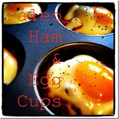 paleo egg and ham cups - Paleo Recipes Breakfast - Lindsay's List