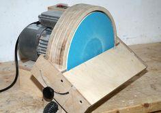 Hessam Sane's shop built disk sander