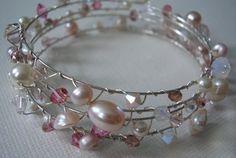 Memory wire Bracelet by megangillis on Etsy, $30.00