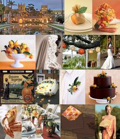 Here is some gorgeous Orange Blossom & Tangerine Wedding Inspiration! Orange Blossom Wedding, Tangerine Wedding, Western Wedding Centerpieces, Wedding Decorations On A Budget, Wedding Food Bars, Fruit Wedding, Fruit Centerpieces, Elegant Centerpieces, Centerpiece Decorations
