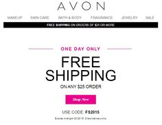 Avon Coupon Code March 2015
