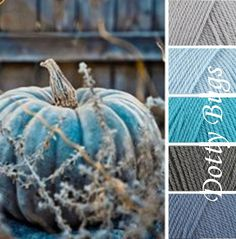 Colours for bedroom quilt: Silver, Cloud, Turquoise, Graphite, Denim