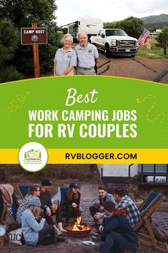For couples looking to sustain their RV lifestyle, they can do so now with work camping jobs! usually a seasonal position where a couple comes to a resort or campground and helps to fill in as part of the workforce for the busy summer, or winter, season. Learn more about them in this post - click to continue. Rv Camping, Camping Hacks, Camping For Beginners, Rv Organization, Diy Rv, Forest Service, Diy Camper, Job Opening, Winter Season