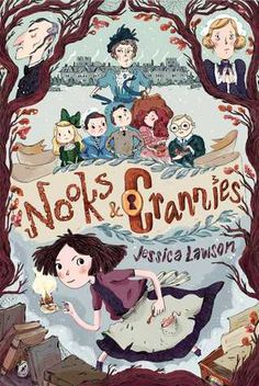 KISS THE BOOK: Nooks and Crannies by Jessica Lawson - ESSENTIAL